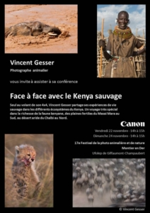 01 Face to face with wild Kenya - French