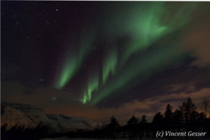 Northern lights (Aurora borealis) in Norway, 2