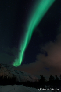 Northern lights (Aurora borealis) in Norway, 3