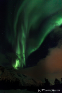 Northern lights (Aurora borealis) in Norway, 4