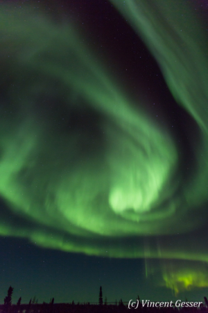 Northern lights (Aurora borealis) in Canada, 2