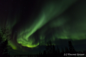 Northern lights (Aurora borealis) in Canada, 3