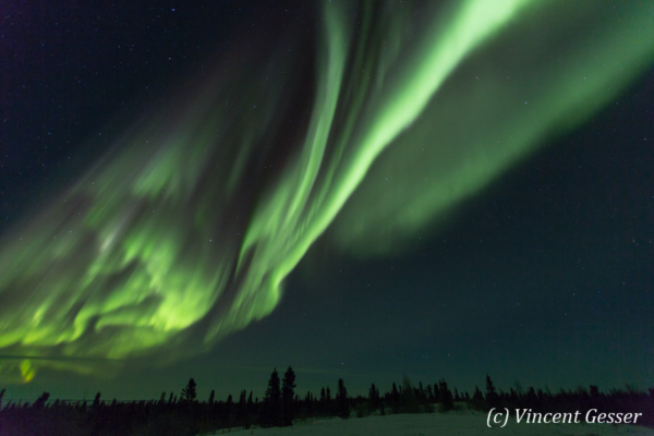 Northern lights (Aurora borealis) in Canada, 4