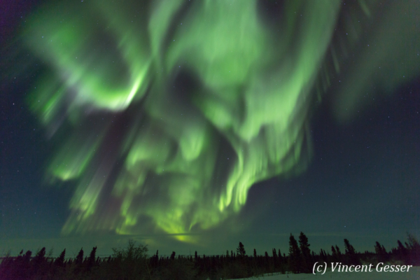 Northern lights (Aurora borealis) in Canada, 5
