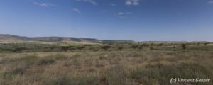 Endless plain, between Barsaloi and Baragoi, Kenya