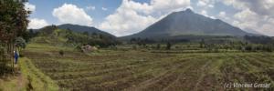 Panorama Virunga Sabyinyo