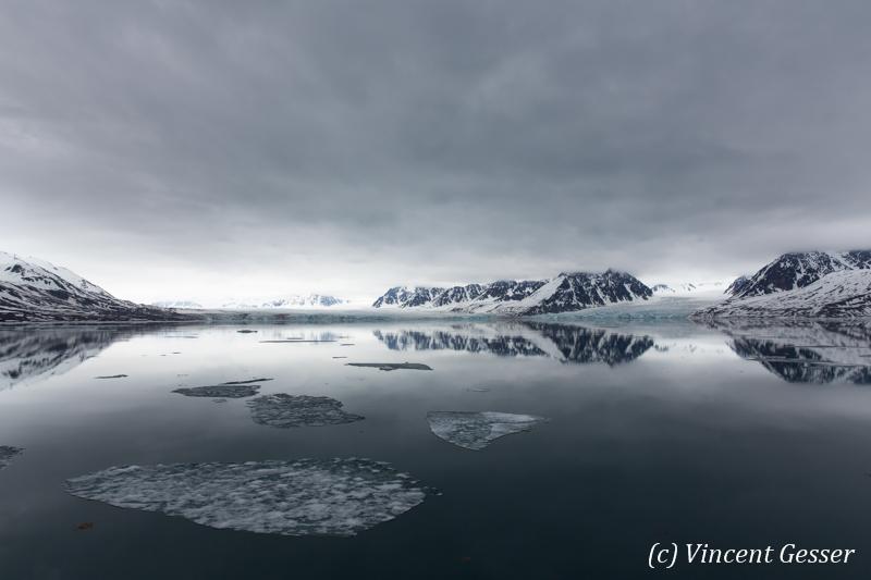 Spitzbergen reflections 2, Svalbard