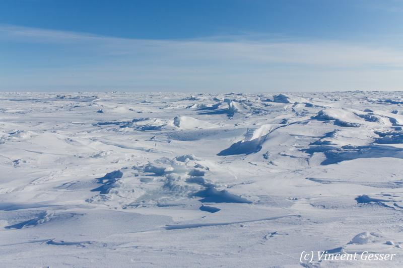 Hudson Bay frozen, Churchill, Manitoba, 2