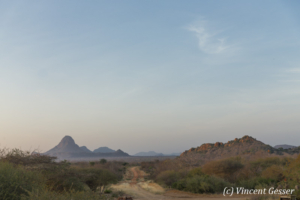 Landscape of Ithumba, Tsavo East National Park, Kenya