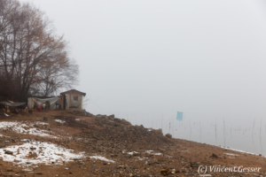 Mist over Lake Kerkini, Greece