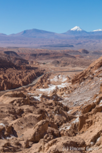 Landscape of the Cordillera de la Sal, Chile