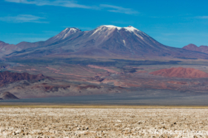 Landscape of Mountains near San Pedro de Atacama, Chile