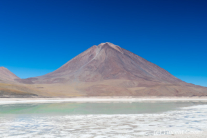 Landscape of Laguna Verde, Bolivia