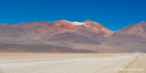 Landscape and mountains of the Desert of Salvador Dali, Bolivia