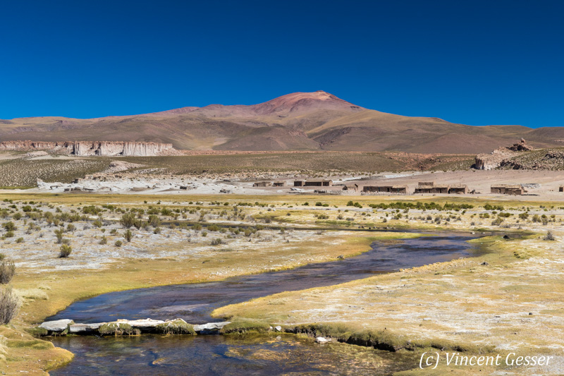 Landscape of South Lipez, Bolivia