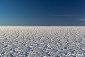 Landscapes and patterns of the Salar of Uyuni, Bolivia