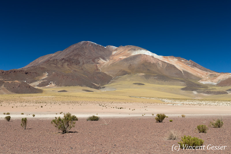 Old volcano in the Atacama Desert, Chile