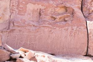 Yerbas Buenas Petroglyphs in Chile - Shamans