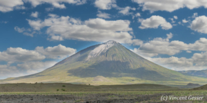 Ol Doinyo Lengai near Lake Natron, Tanzania